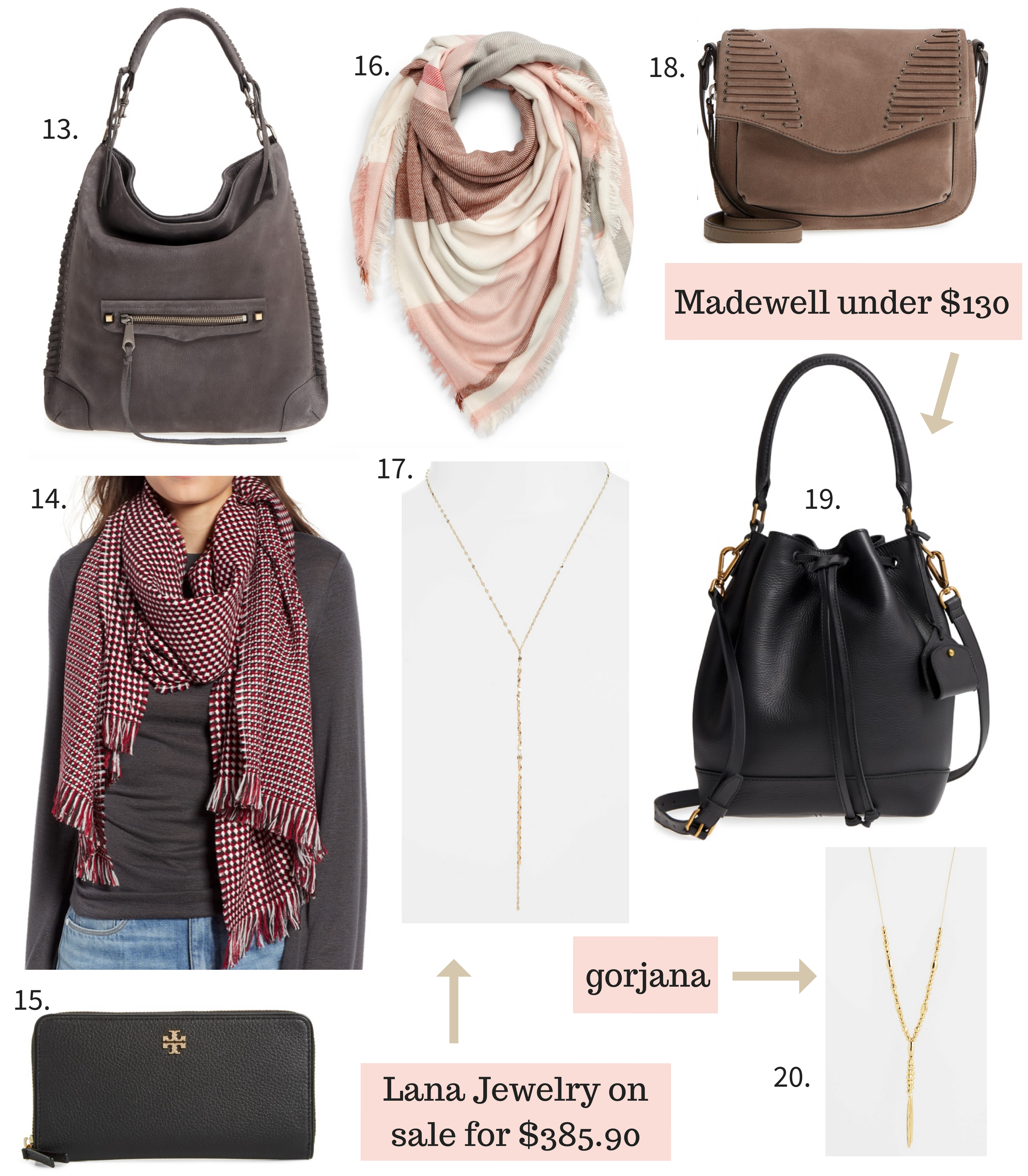 Nordstrom Anniversary Sale 2018 handbags and accessories.