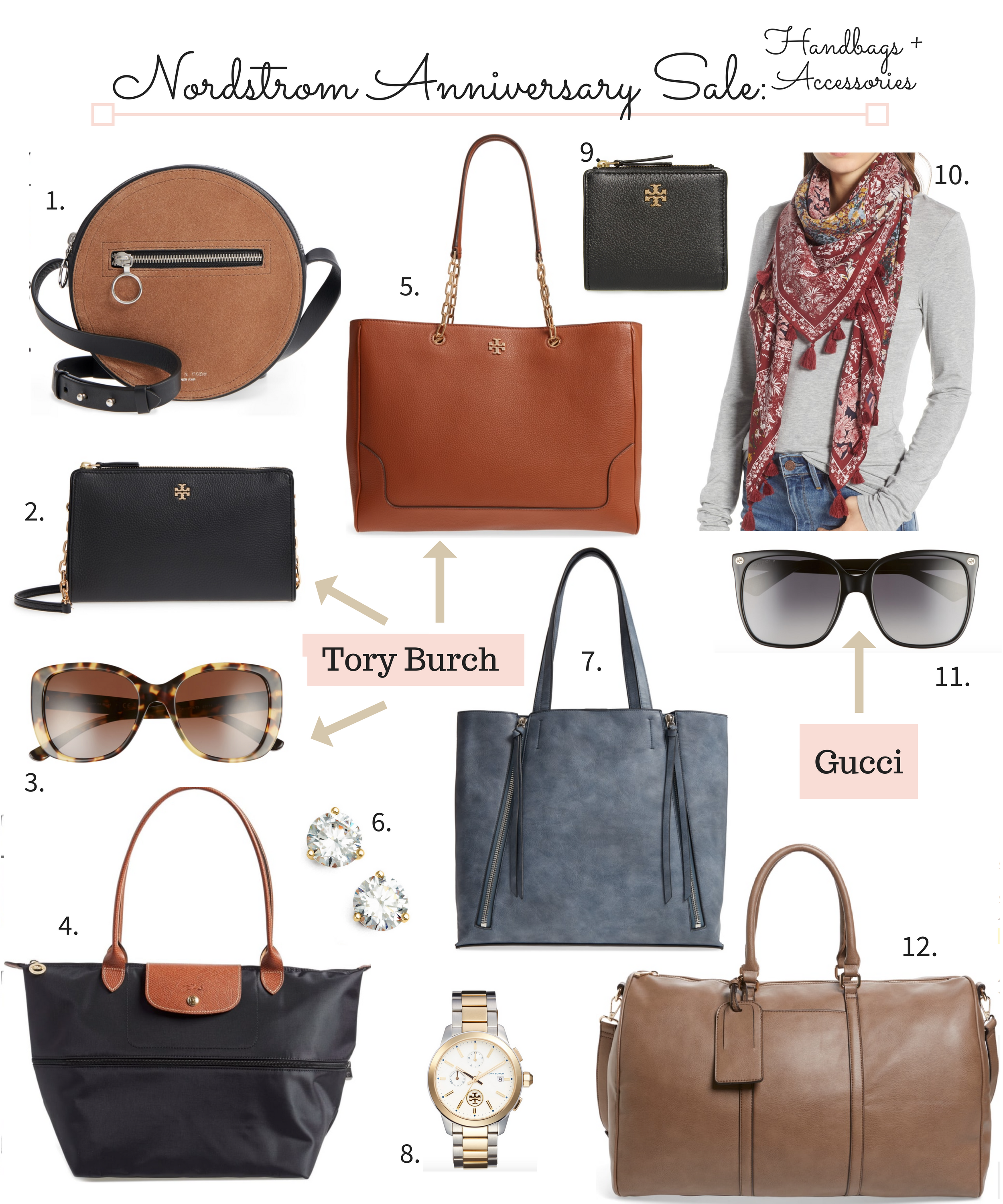 Nordstrom Anniversary Sale 2018 handbags and accessories
