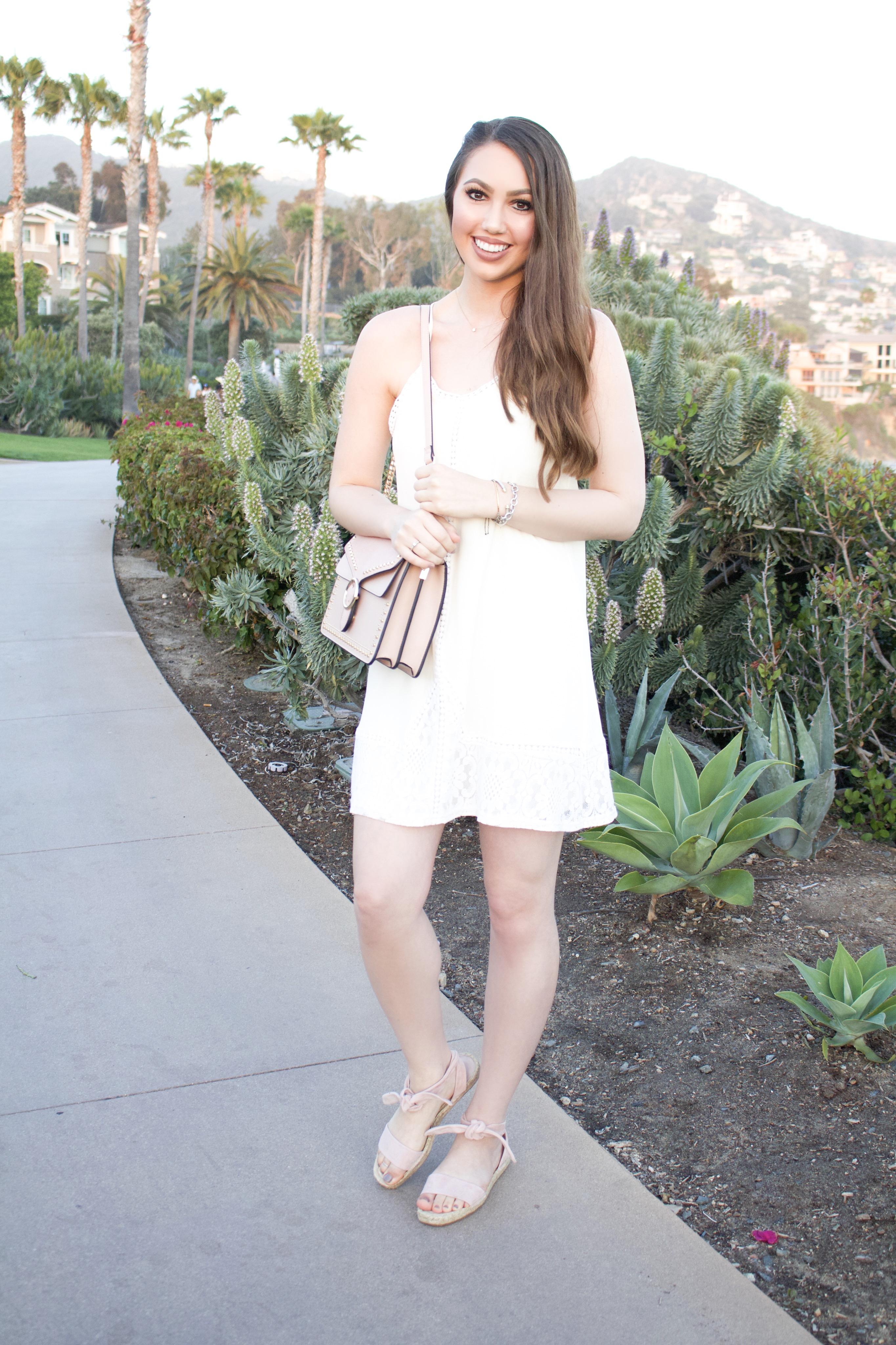 Orange County fashion influencer and blogger