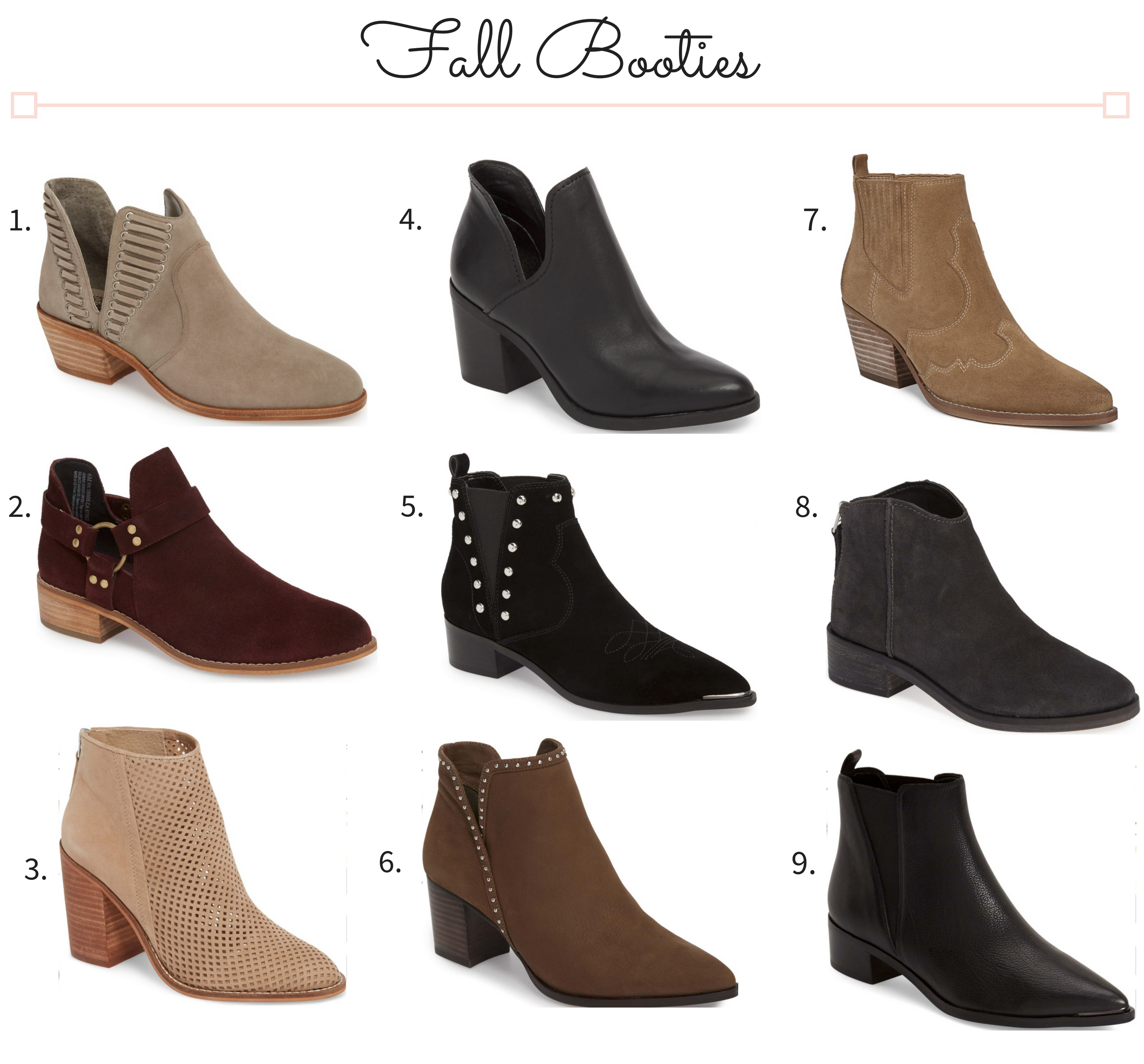 Must-Have Fall Booties 2018
