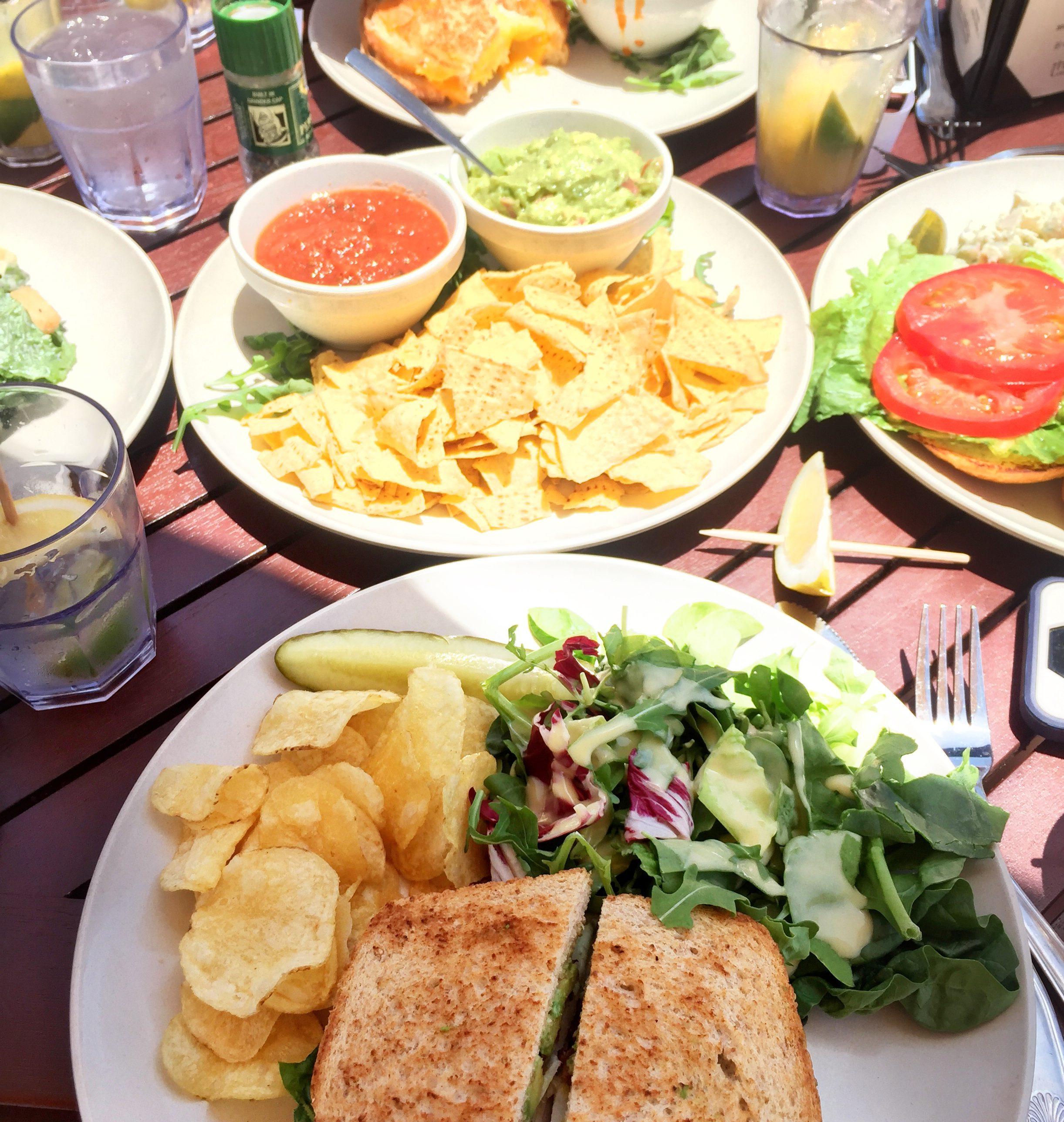 rooftop laguna beach food