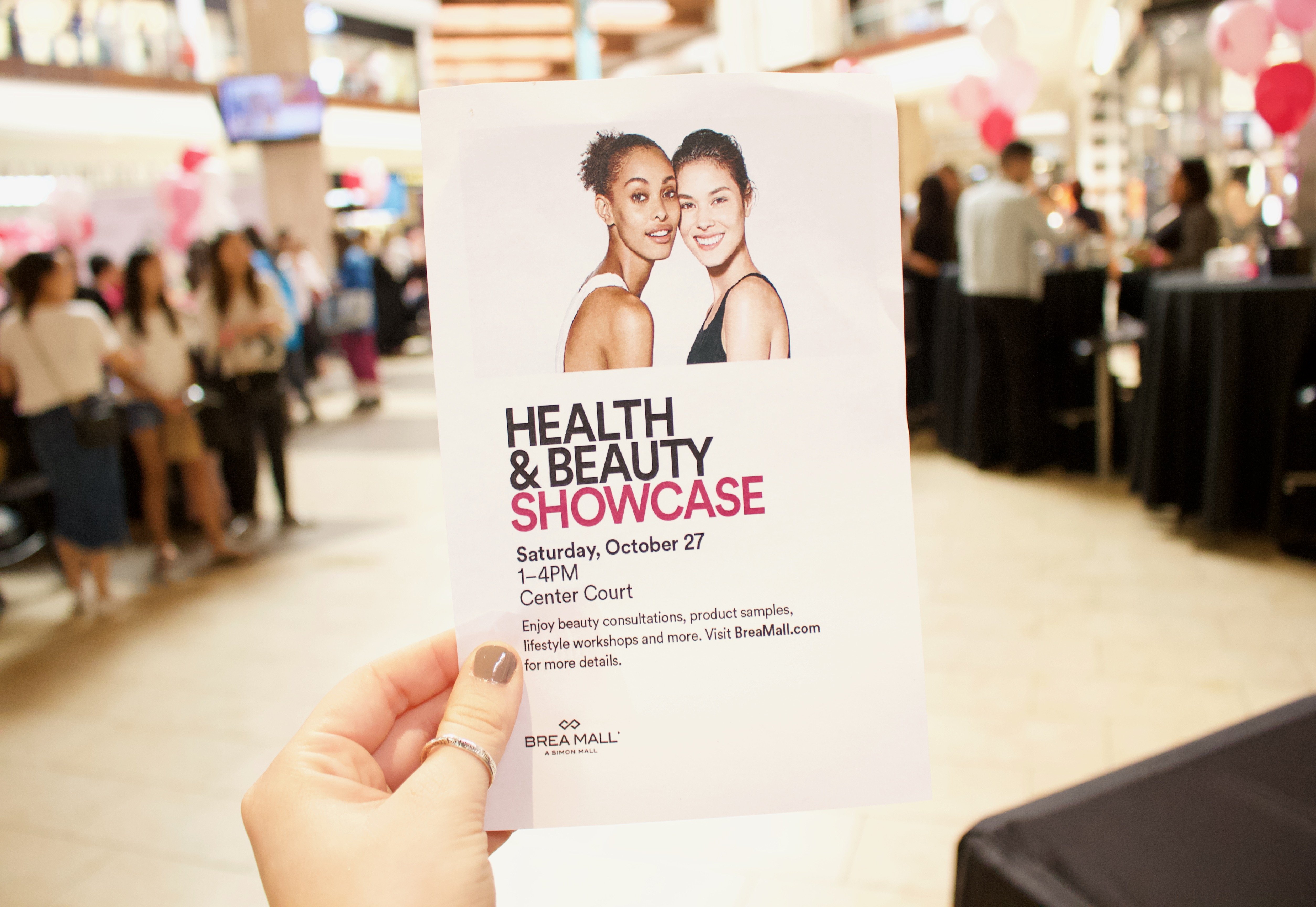 Brea Mall Health & Beauty Showcase