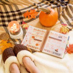 Erin Condren LifePlanner Decoration Idea – Fall