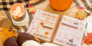 Erin Condren LifePlanner Decoration Idea – Fall