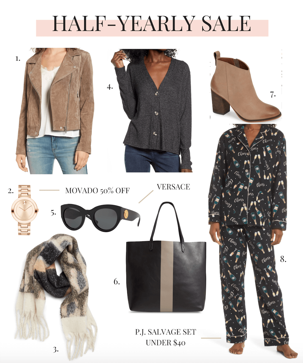 Nordstrom Half-Yearly Sale 2019 dates