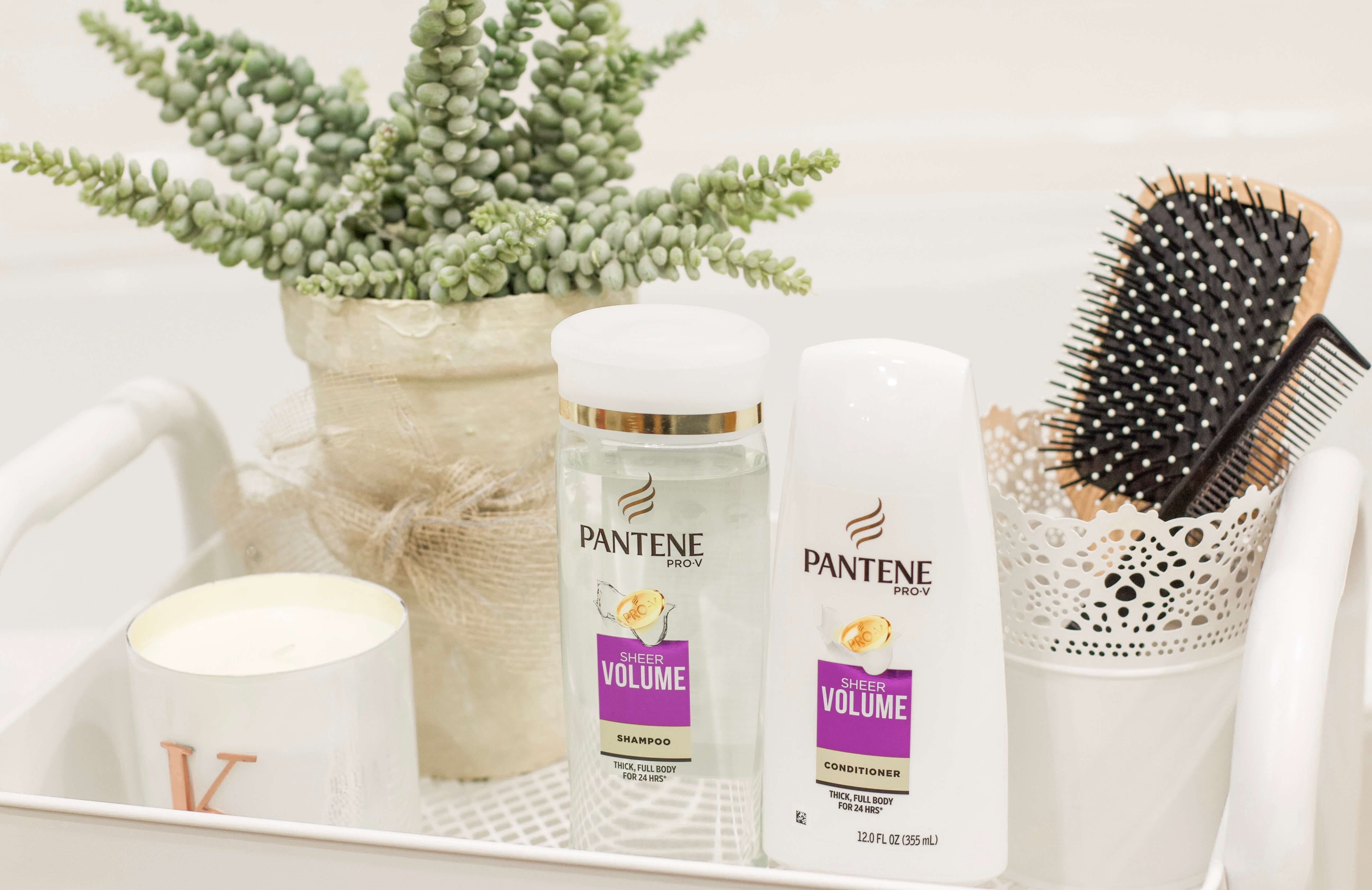 Pantene Sheer Volume Shampoo and Conditioner review