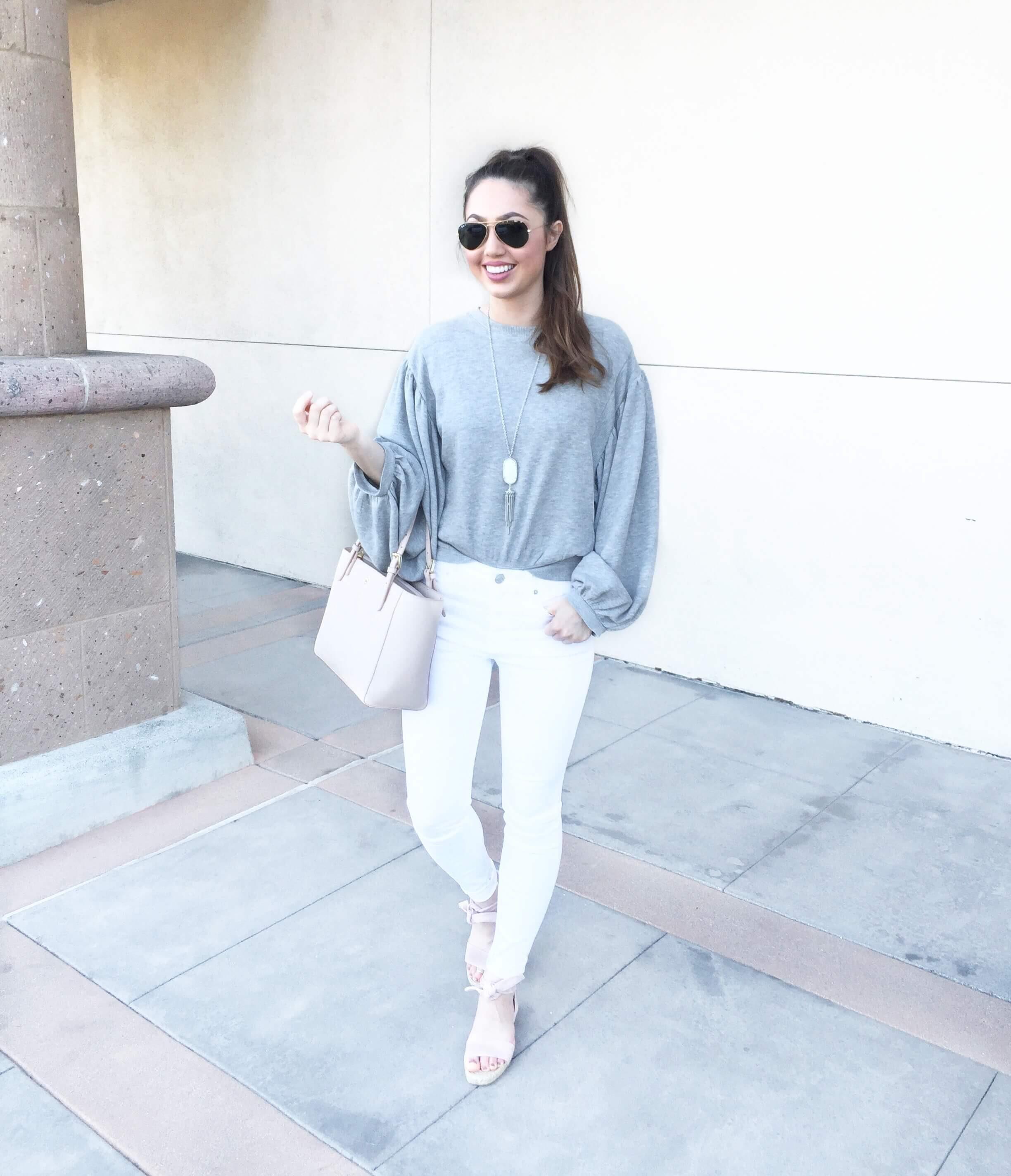 flattering white jeans women under $50