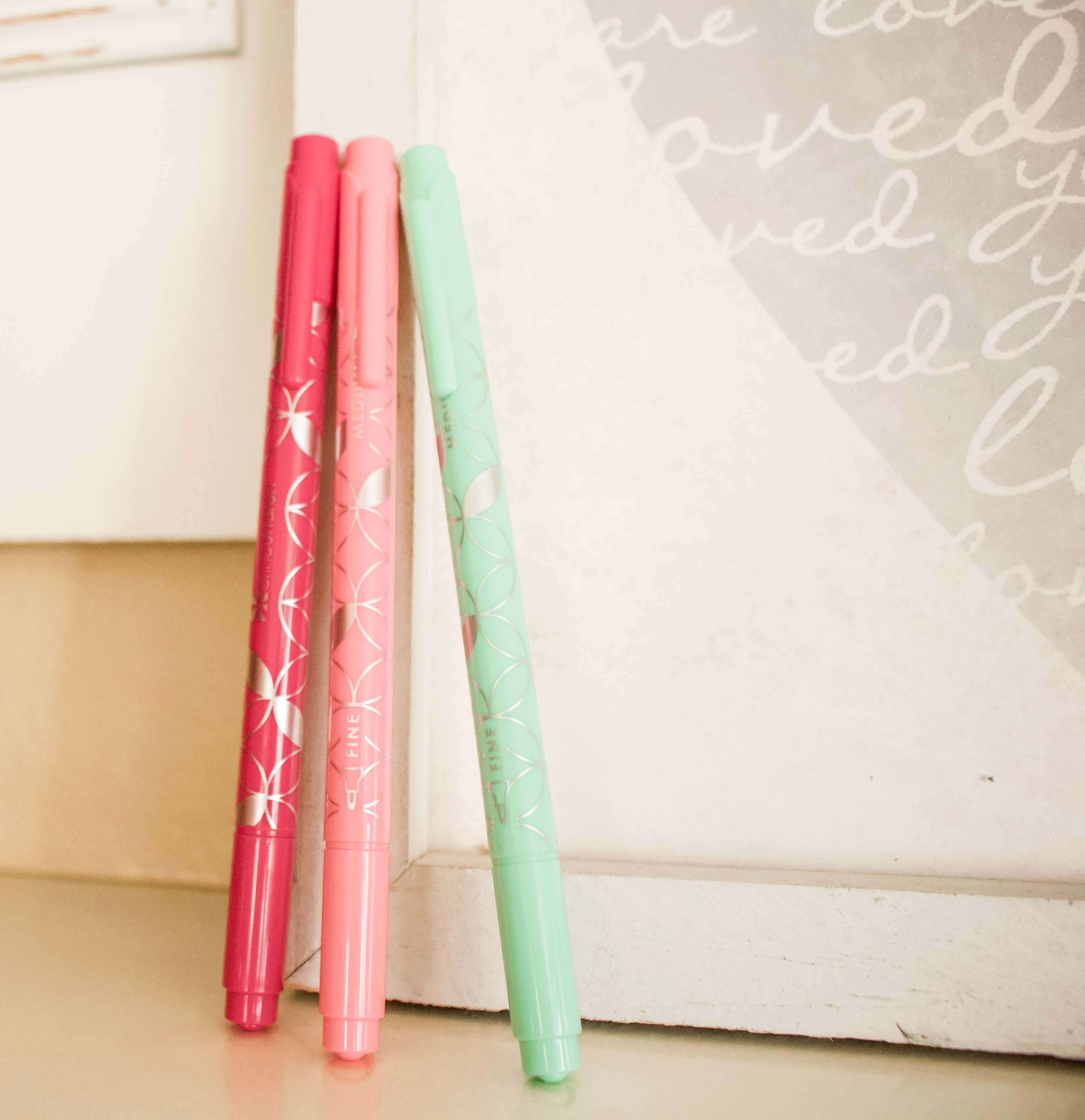 pens to use with Erin Condren LifePlanner