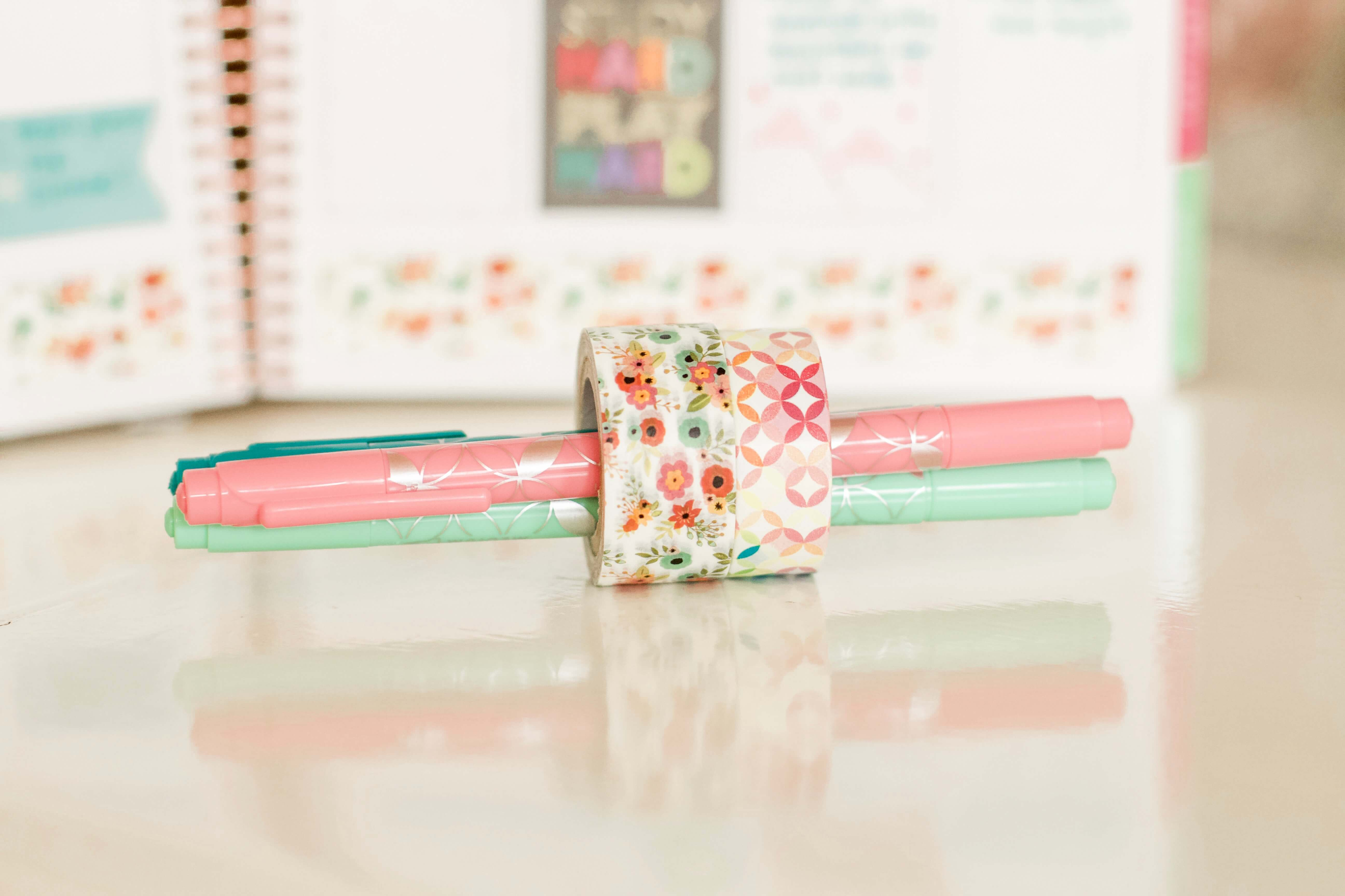 washi tape for LifePlanner Erin Condren