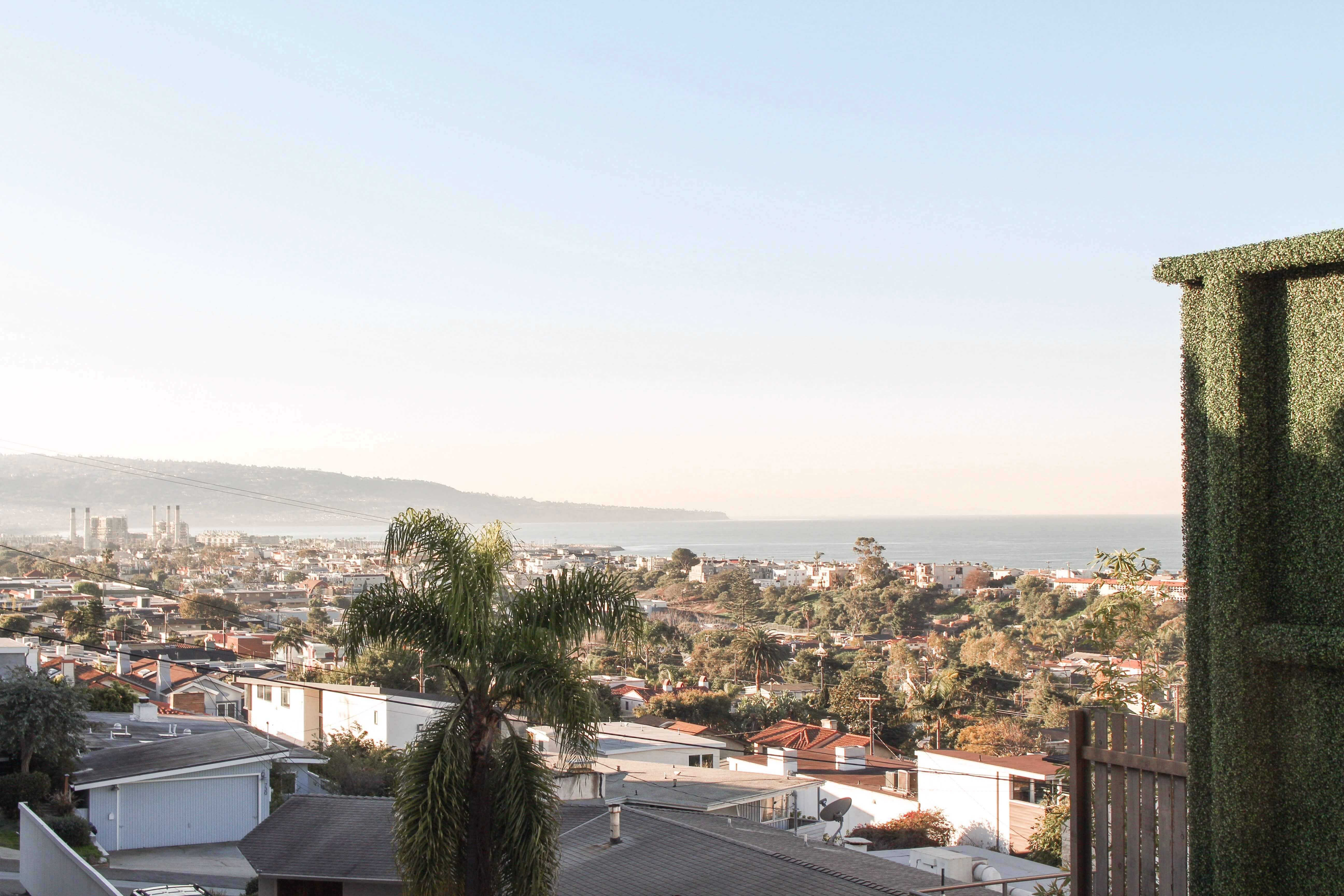 hotel hermosa view of Hermosa Beach Pier
