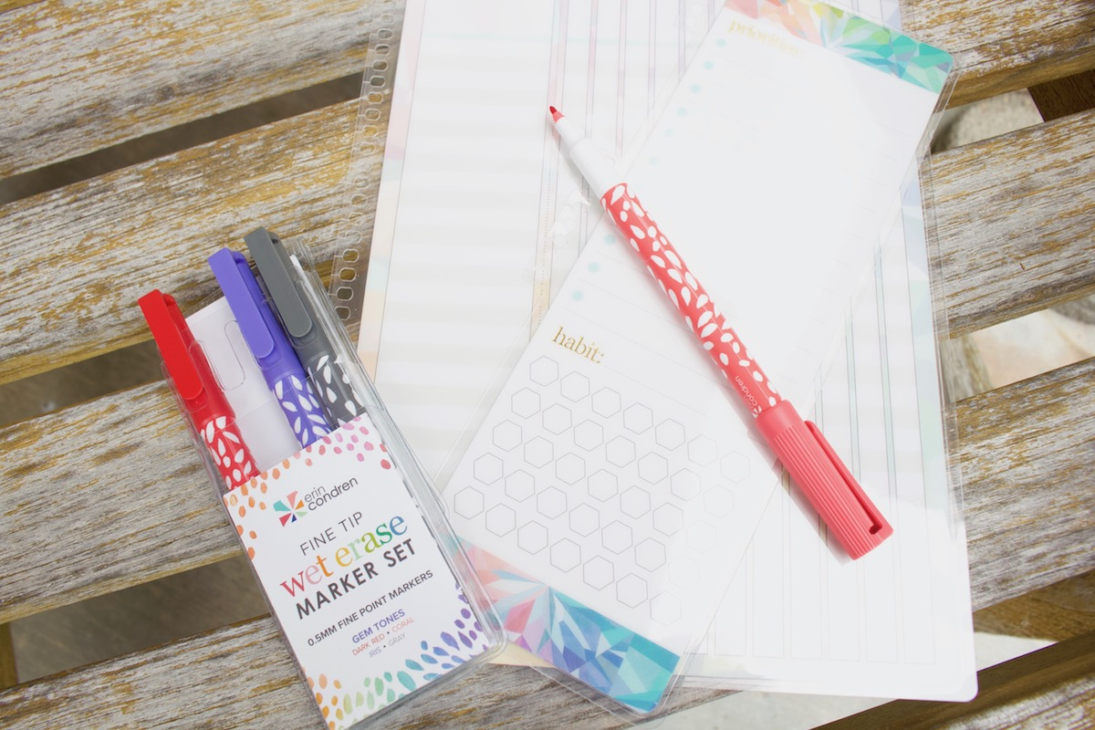 erin condren kaleidoscope dashboards