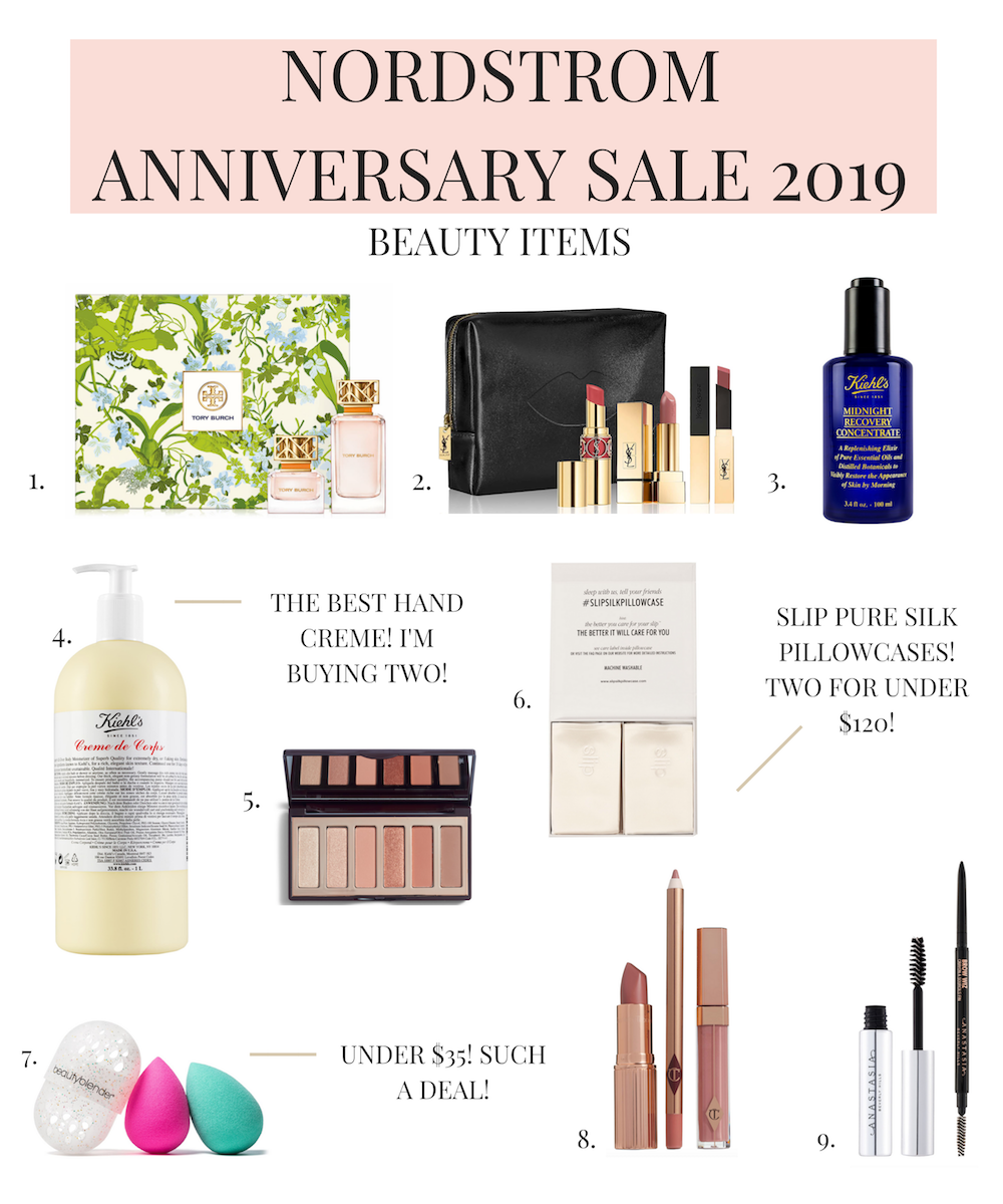 NORDSTROM anniversary sale 2019 beauty products