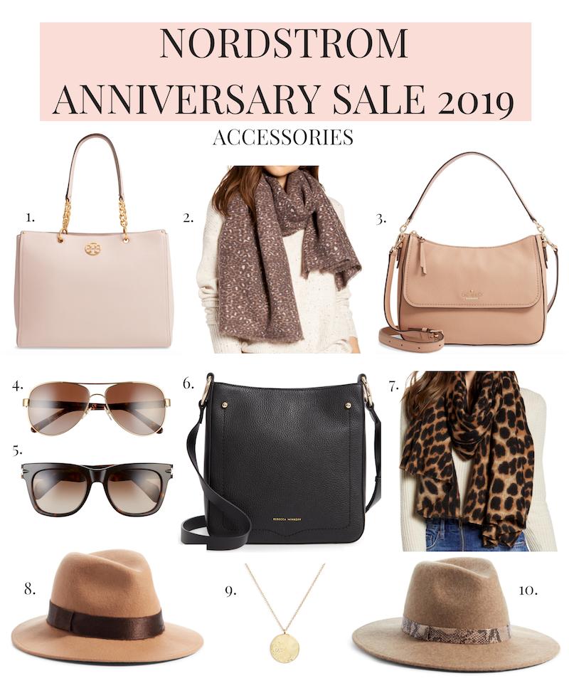 Nordstrom Anniversary Sale 2019 purses, scarves, hats, sunglasses