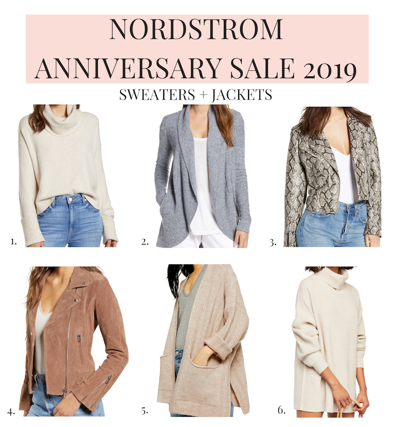 Nordstrom Anniversary Sale 2019 Guide sweaters and jackets