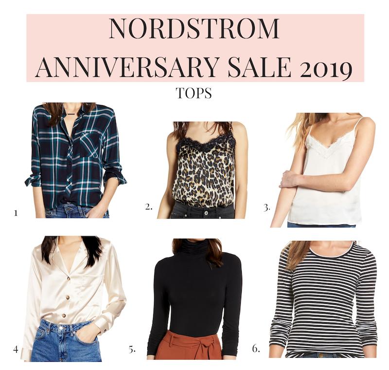Nordstrom Anniversary Sale 2019 tops