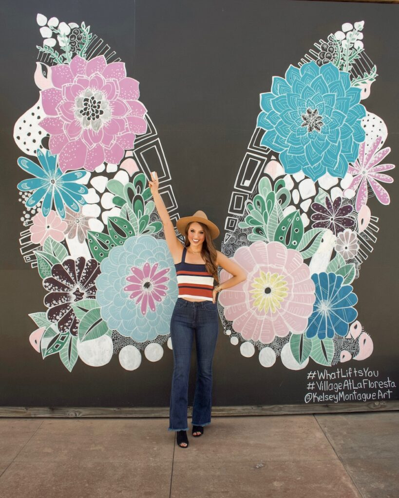Kelsey Montague What Lifts You brea Mural