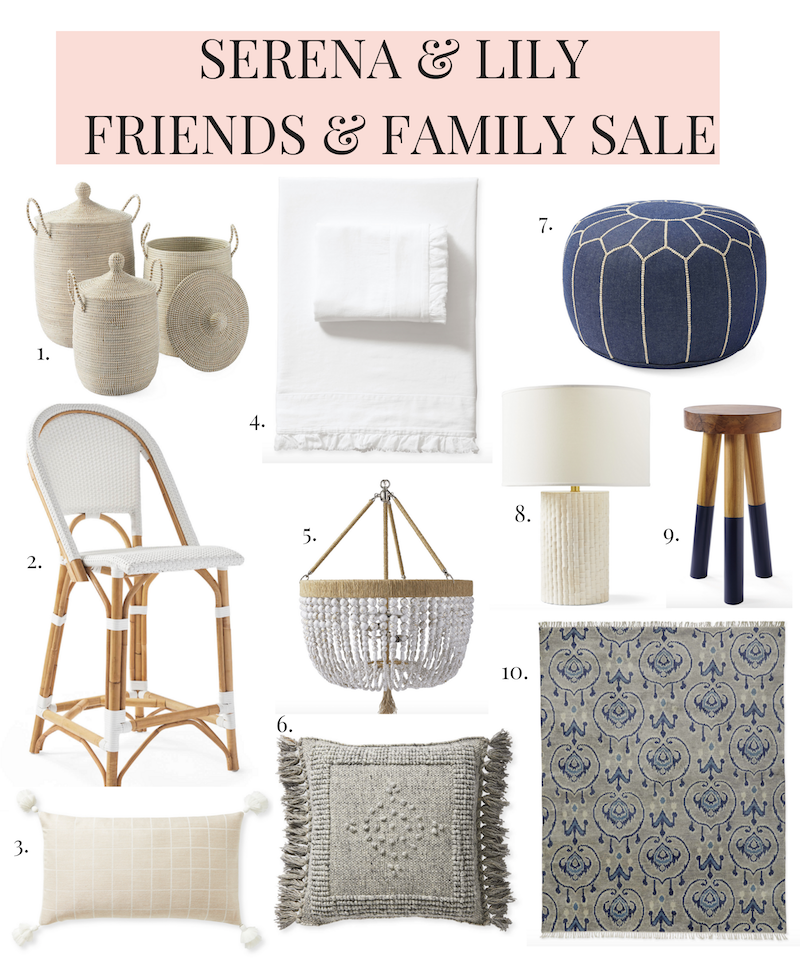 Serena & Lily friends and family sale 2019