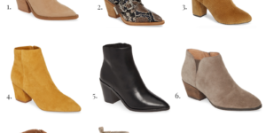 Favorite Fall Booties 2019