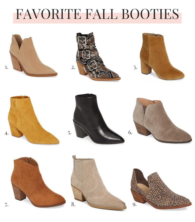 Favorite Fall Booties 2019