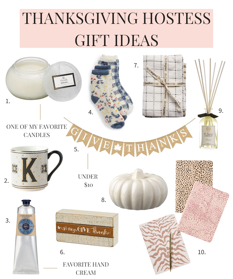Thanksgiving hostess gift ideas 2019.