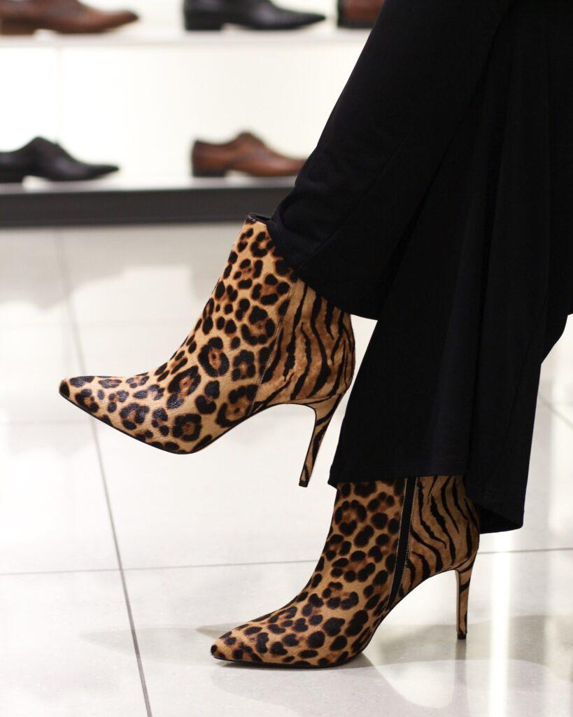 aldo boots leopard print