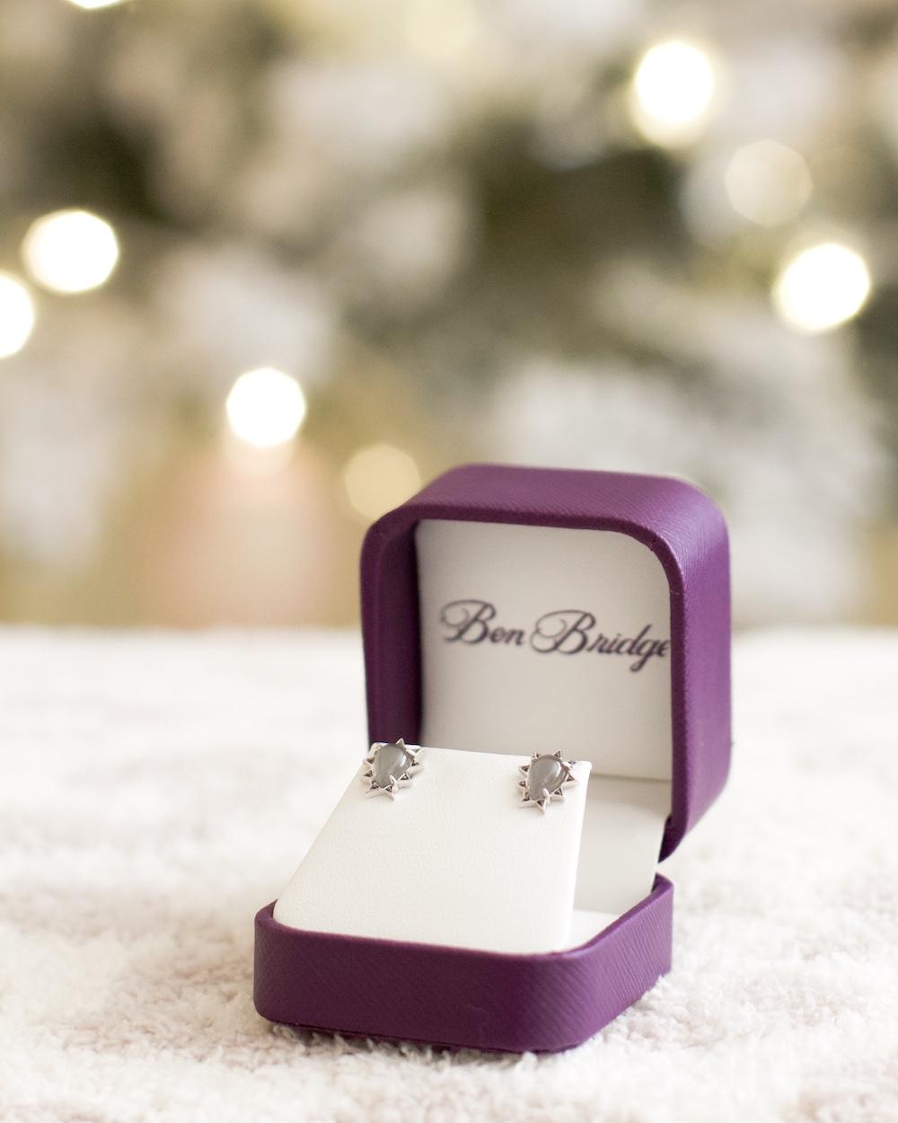 ben bridge brea mall holiday earrings gift