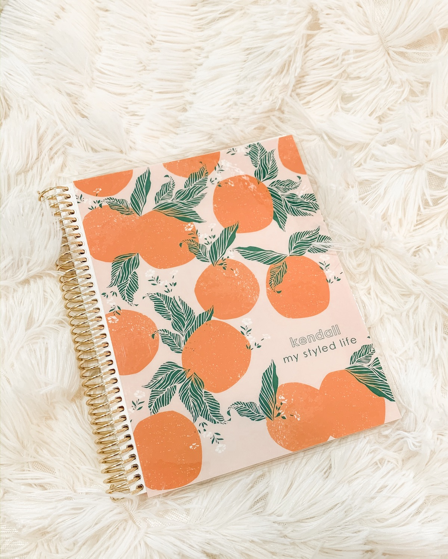 personalized notebook erin condren