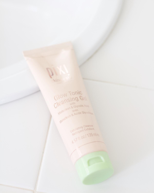 pixi glow tonic cleansing gel review