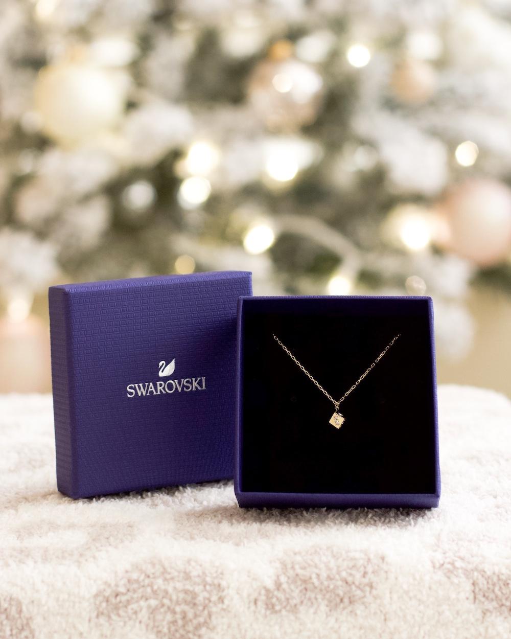 swarovski brea mall necklace