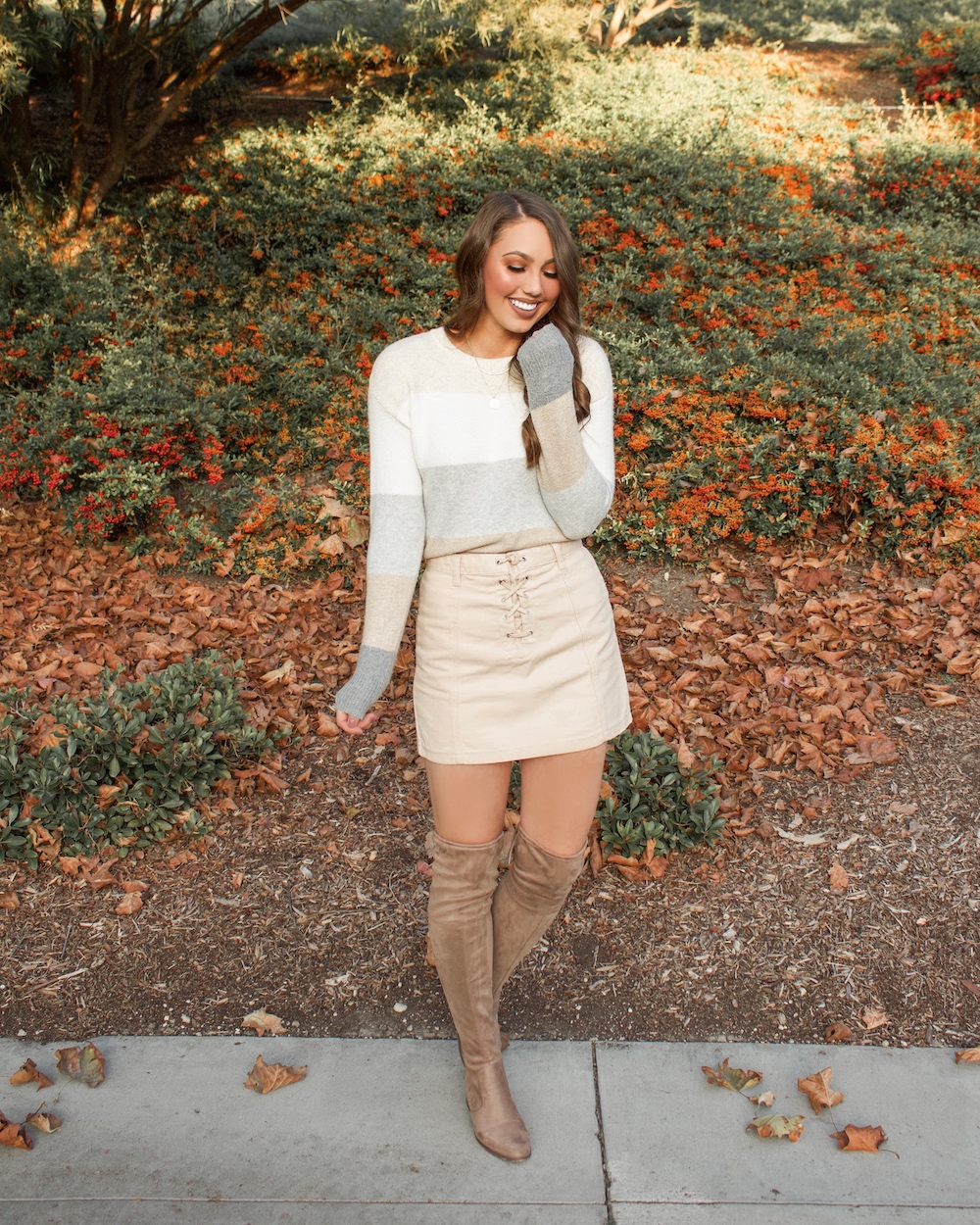 thanksgiving outfit skirt