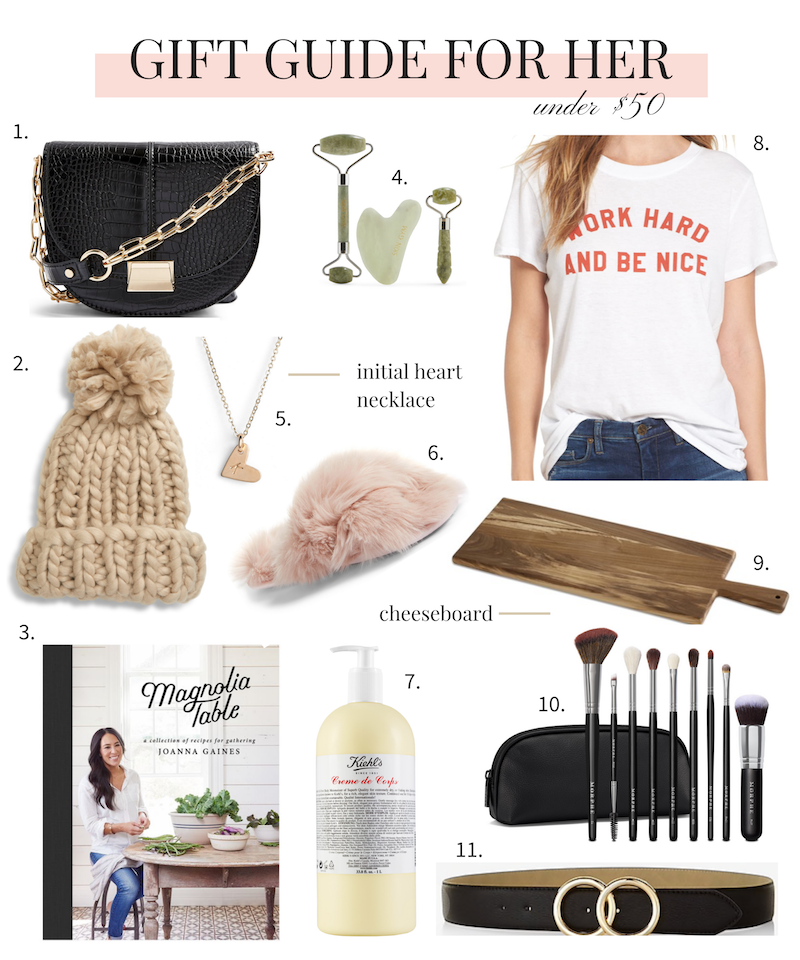 unique christmas gift ideas for her under $50