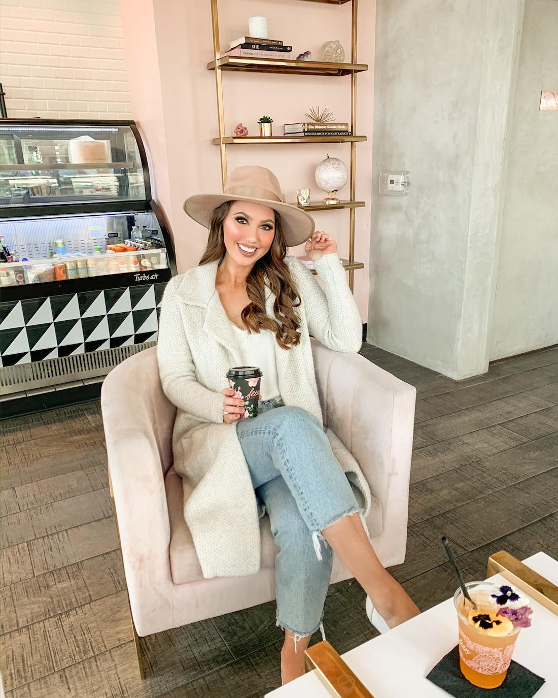 cute orange county coffee shop