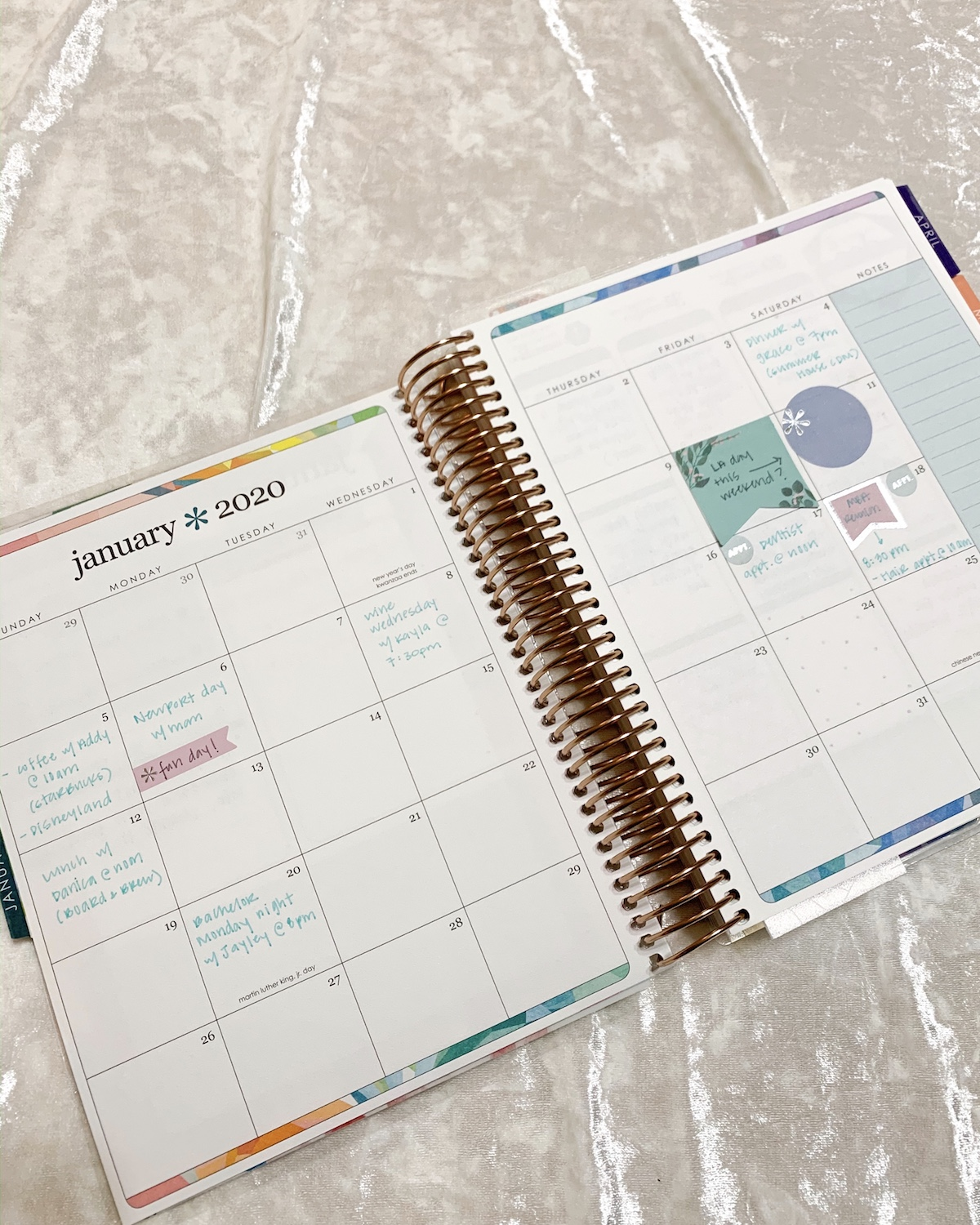 how to use your Erin Condren Life Planner