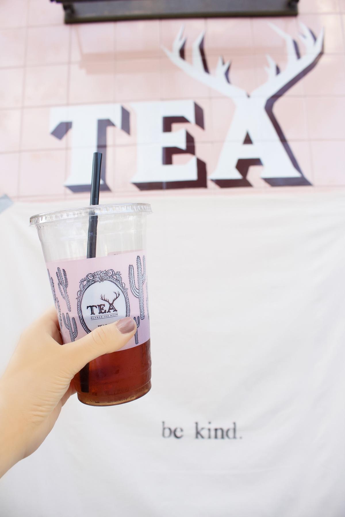 alfred tea melrose