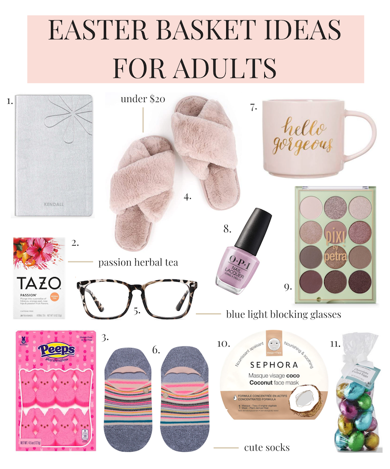 Easter basket ideas for adults 2020