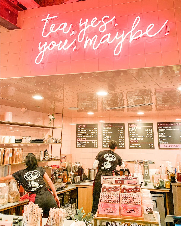 instagrammable coffee shops LA