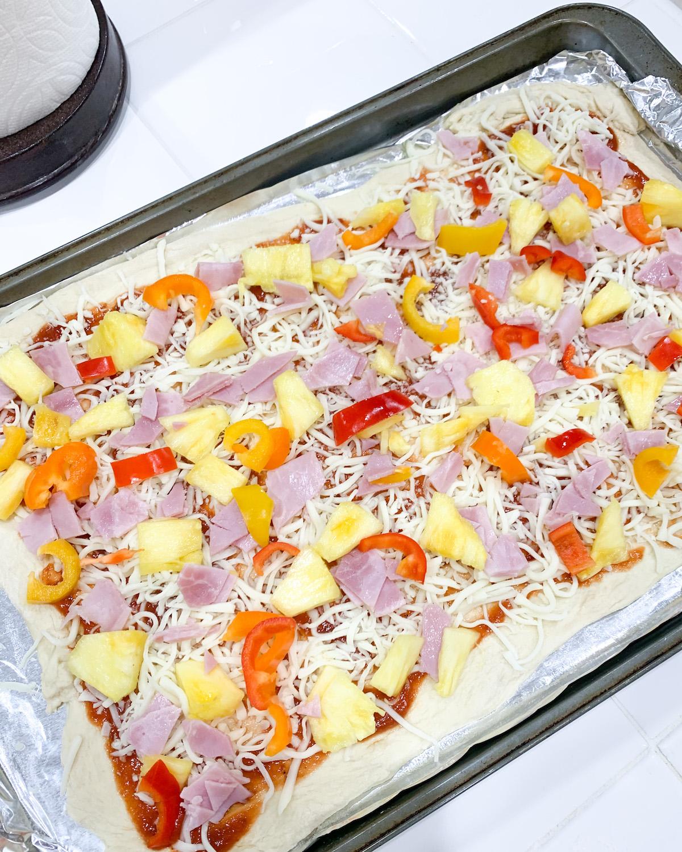 pizza at home recipe