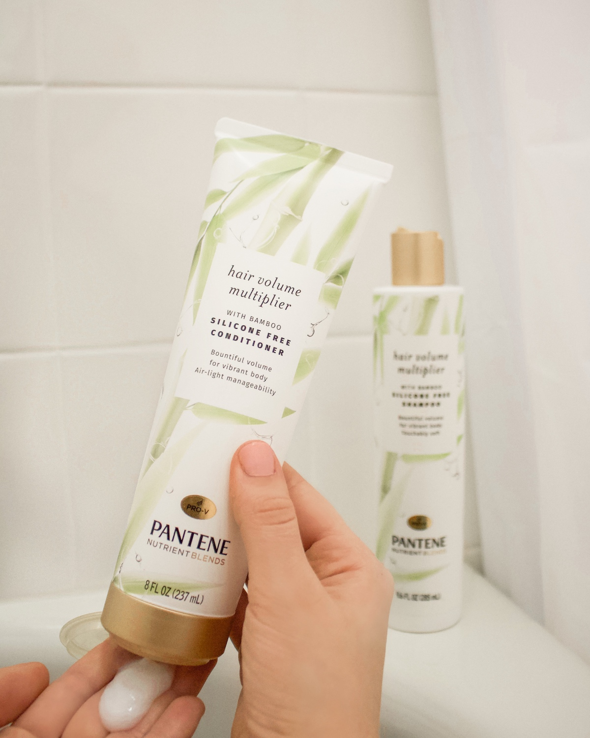 Pantene Nutrient Blends hair volume multiplier review