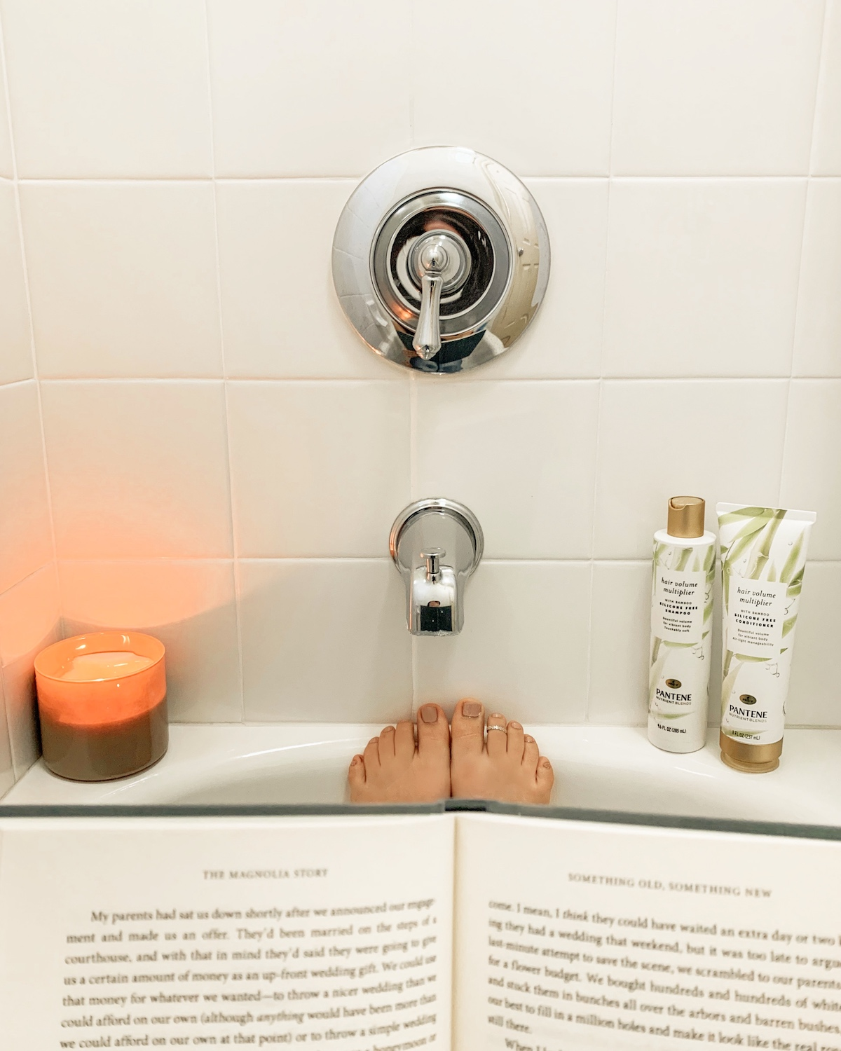 nighttime self-care routine