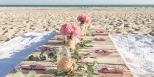beach dinner party ideas