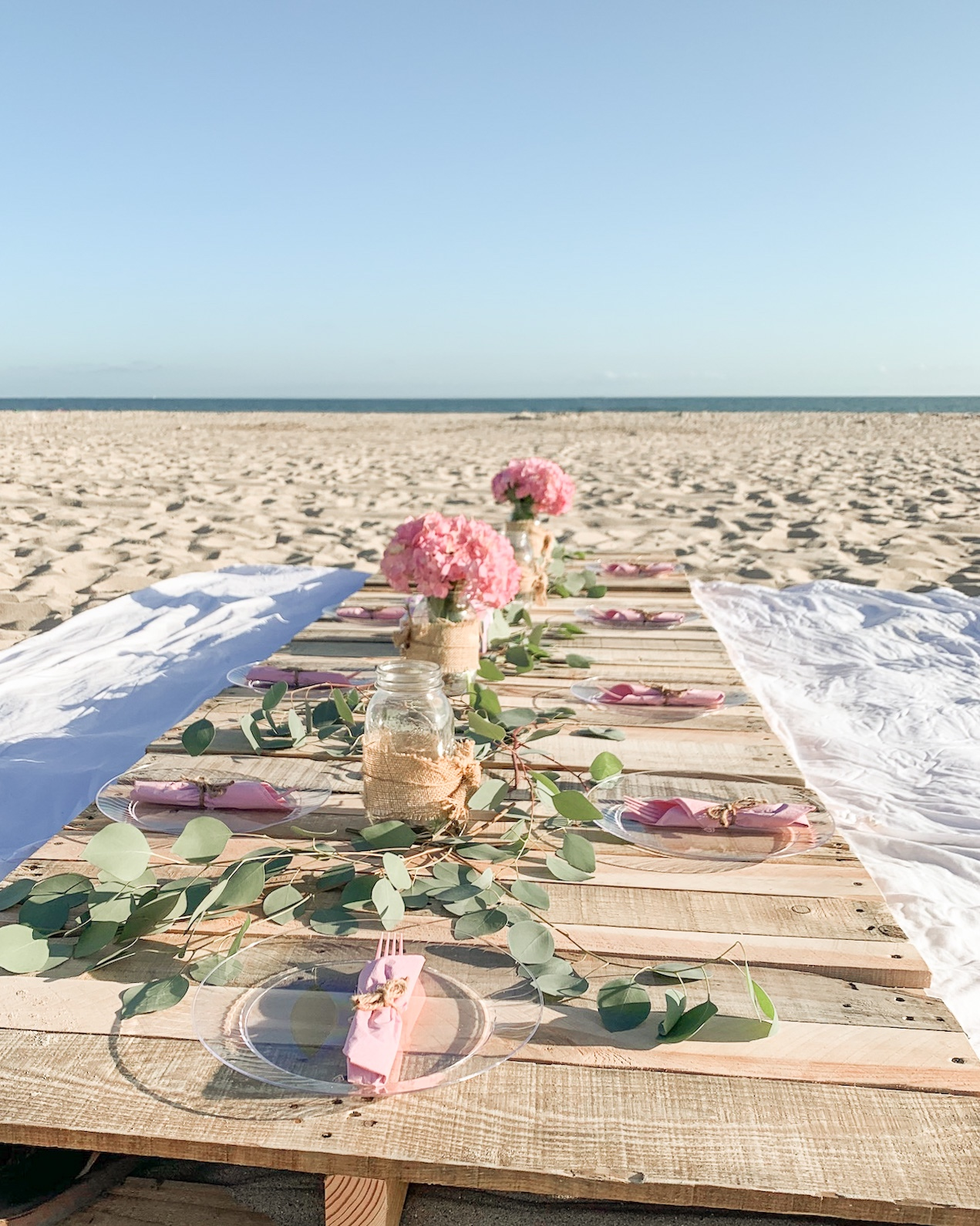 beach dinner party ideas