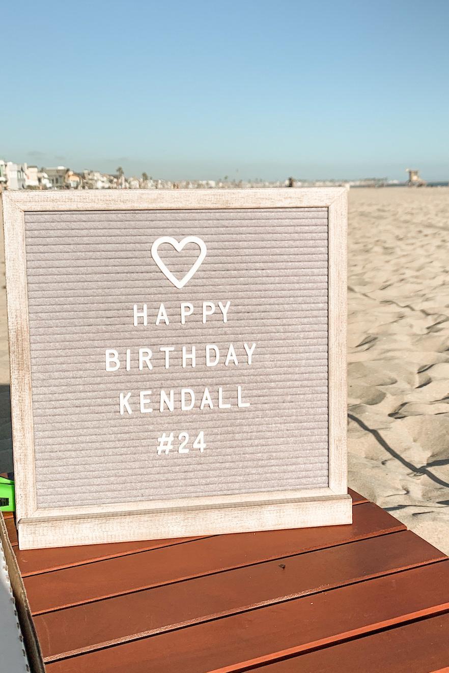 birthday beach party