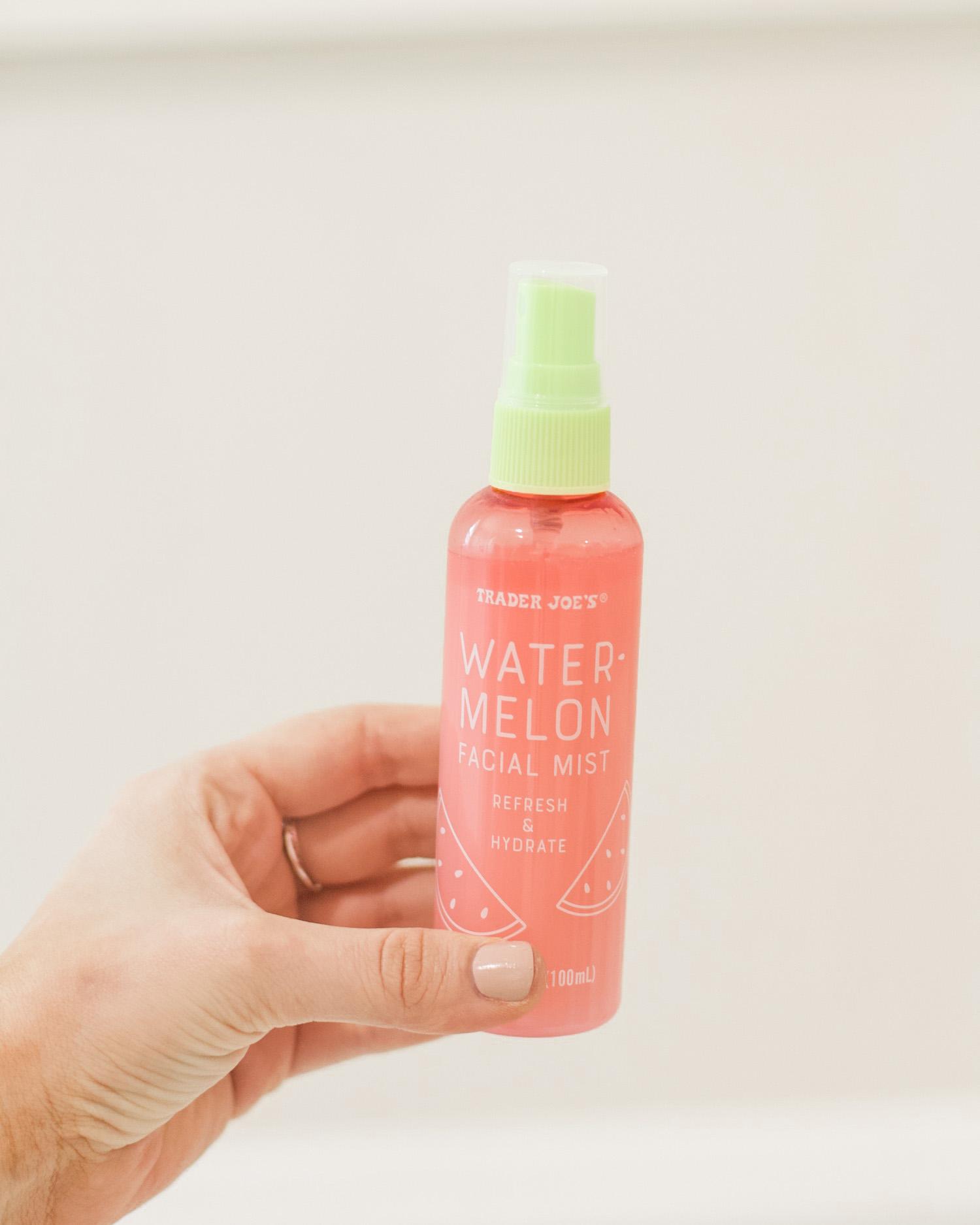 trader joe's watermelon facial mist spray