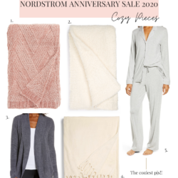 Nordstrom Anniversary Sale Picks 2020 loungewear and blankets