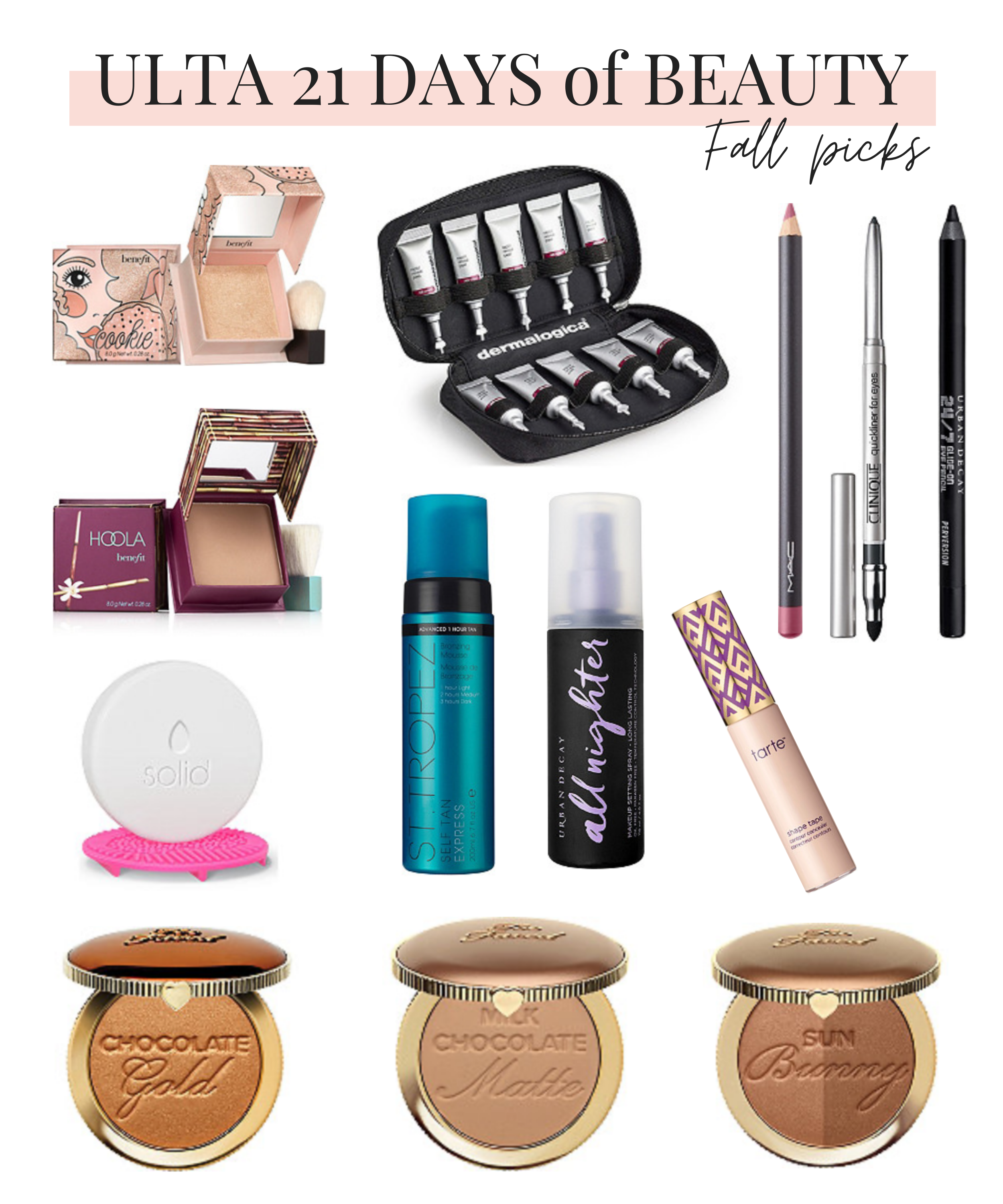 Ulta 21 Days of Beauty Fall 2020 Best Sale Items