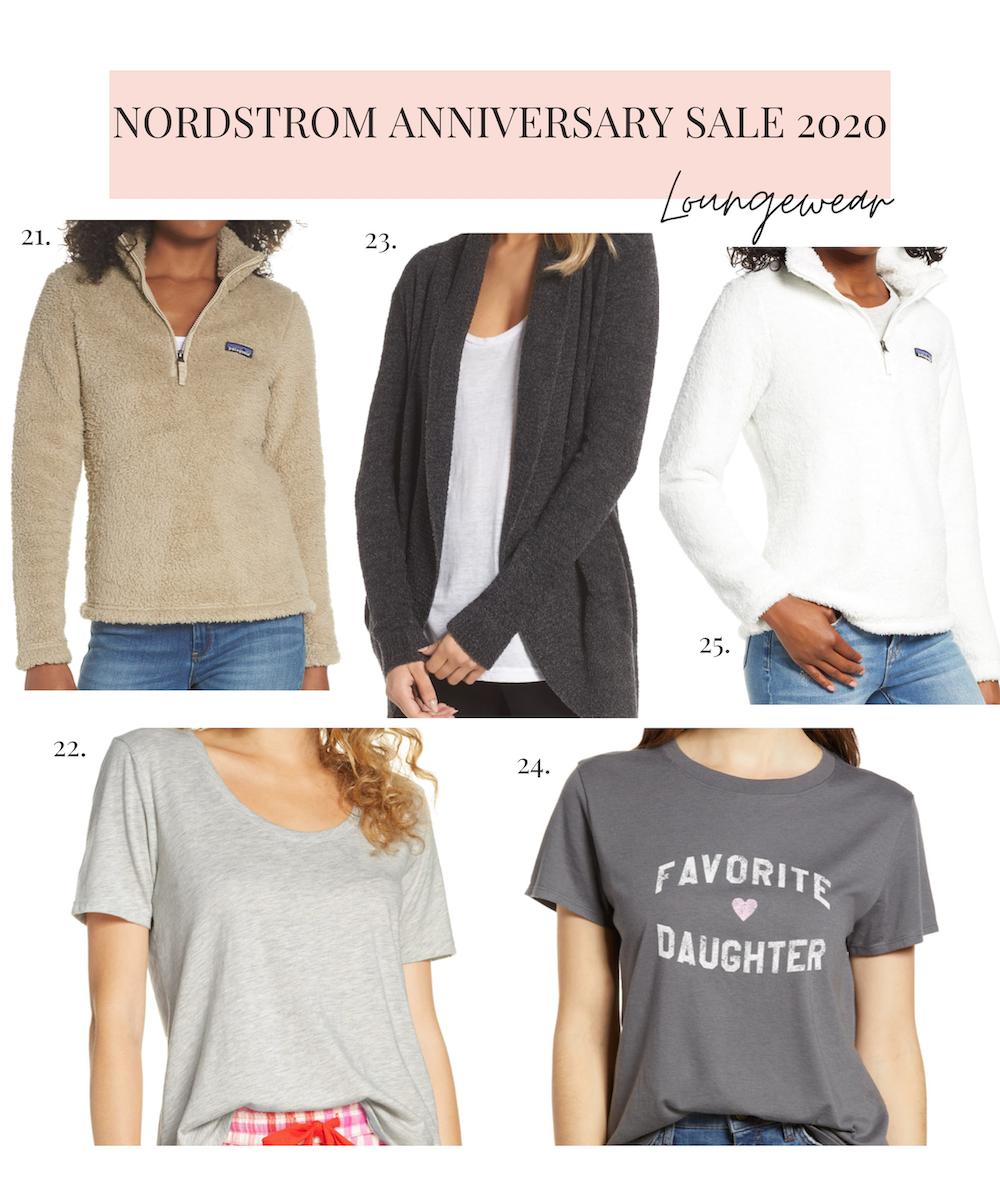 nordstrom anniversary sale 2020 loungewear