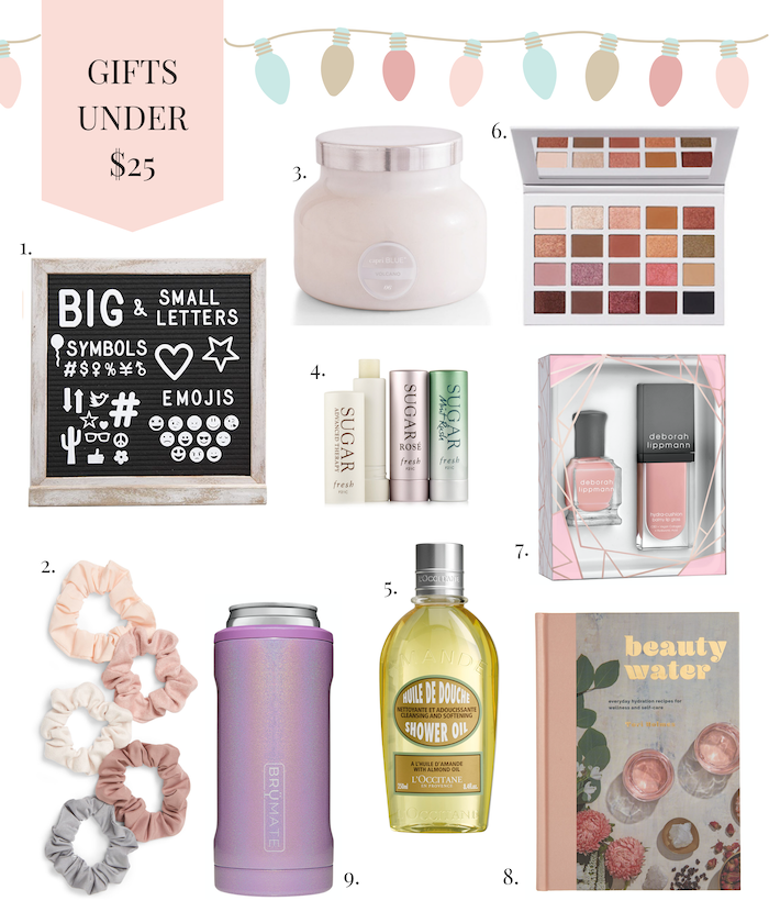 gifts for her under $25.